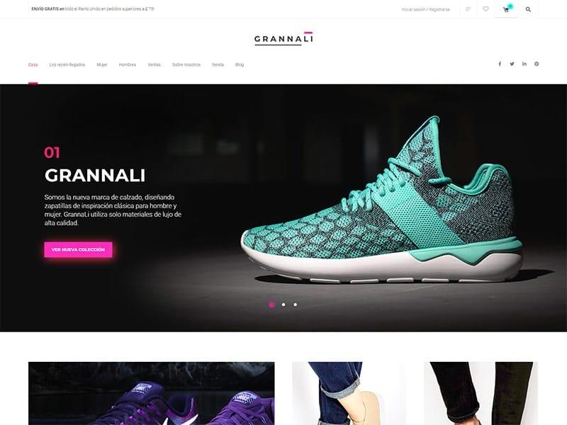 Tienda en línea de zapatos