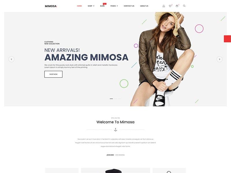 Tienda en línea de moda