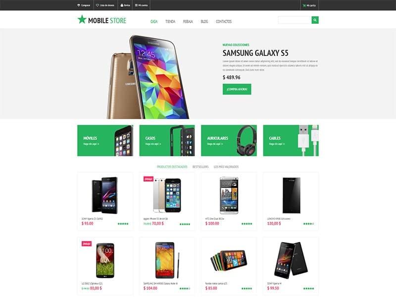 Tienda en línea de smartphones